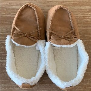 Gap Kids Sherpa Slippers